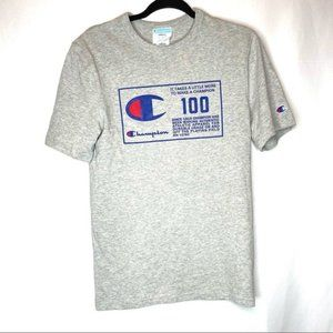 VTG Champion 'Be a Champion' Graphic Tee Small